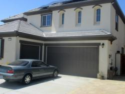 San Marcos CA Gutters on Stucco Home