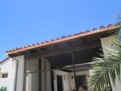 New Copper Rain Gutters San Marcos CA Home